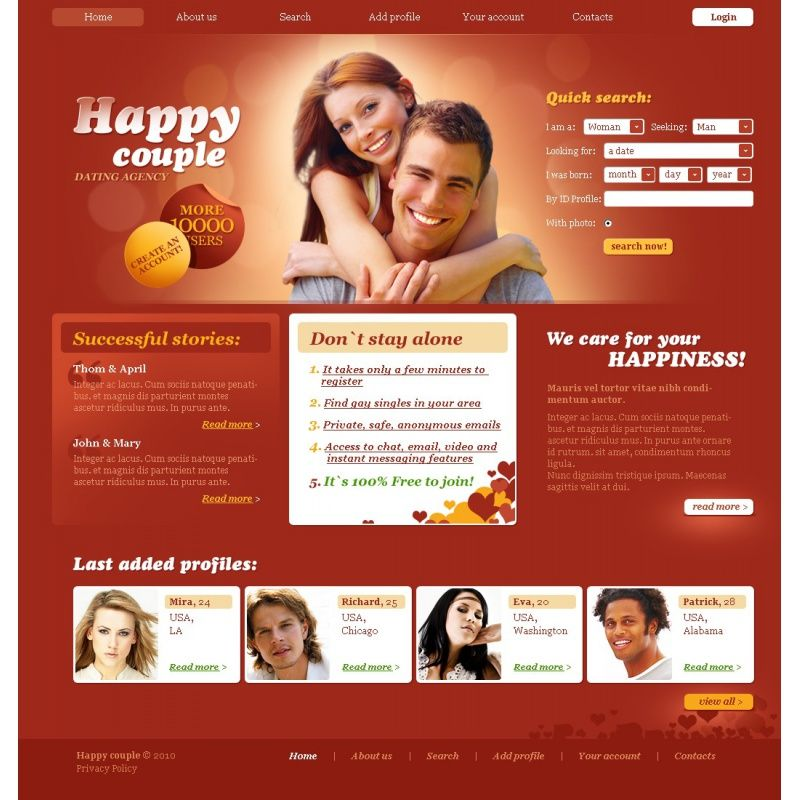 Хэппи служба премиум знакомств