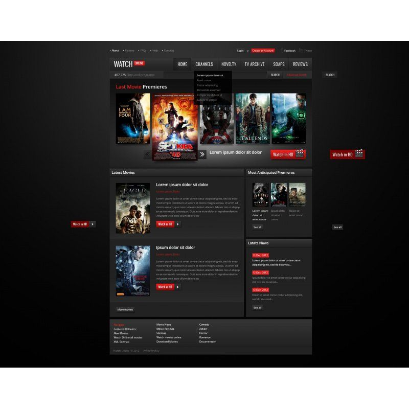 The movie downloads website review
