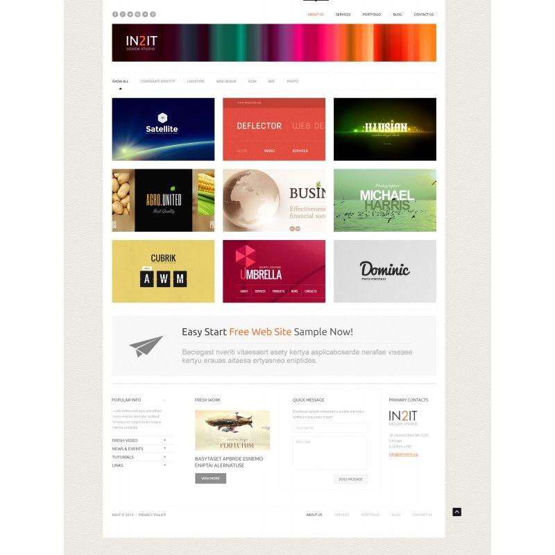 Лучшие дизайн для wordpress
