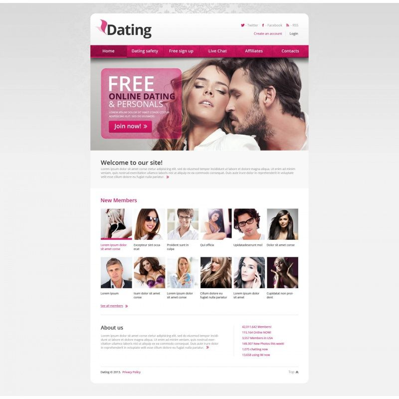 45 dating site
